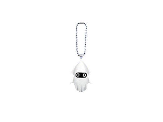 Super Mario Bros Blooper Squid Clip On/Keychain