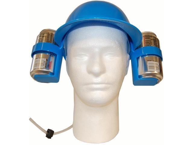 Hands Free Drinking Helmet Blue