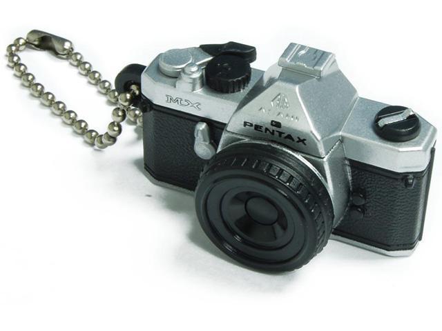 Pentax Capsule Mini Camera Keychain MX Silver Camera