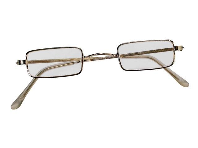 Santa Square Costume Eyeglasses One Size Fits Most