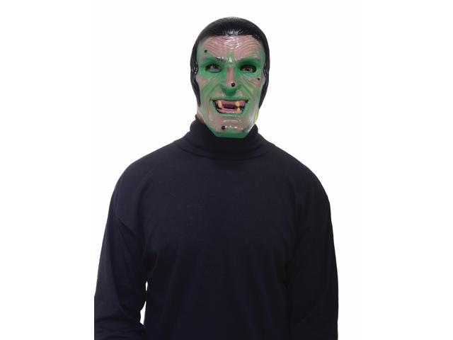 Transparent Costume Mask Adult : Witch One Size