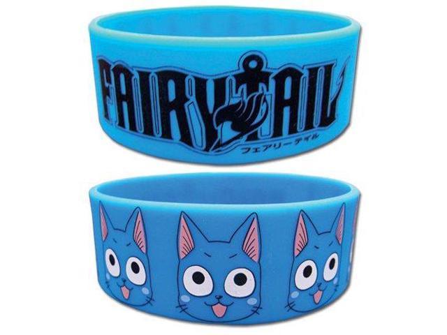 Fairy Tail Happy PVC Wristband