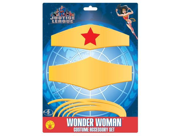 Wonder Woman Costume Accessory Set One Size