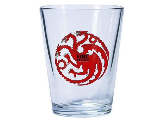 Game Of Thrones Deluxe Shot Glass Targaryen Sigil