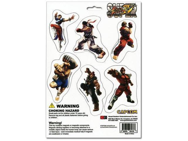 Street Fighter IV Magnet Collection Set