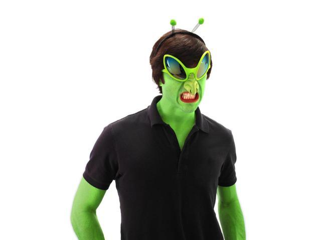 Alien Glasses With Nose Costume Accessory Adult One Size