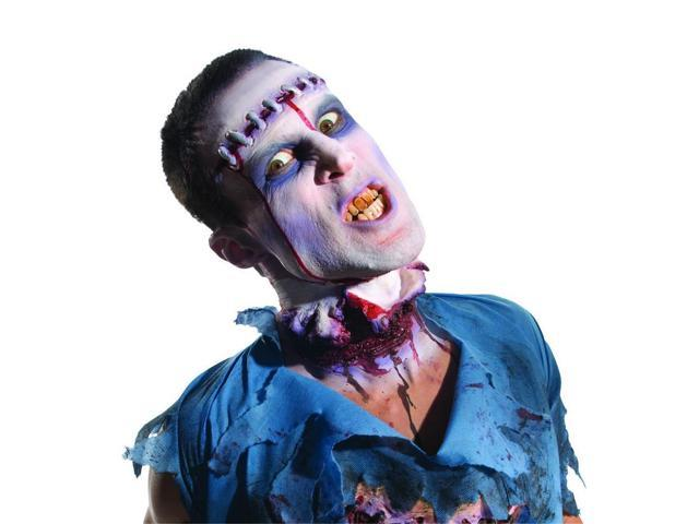 Zombie Lobotomy Latex Appliance Costume Makeup One Size