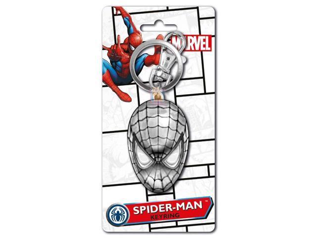 Spider Man 2D Pewter Key Ring