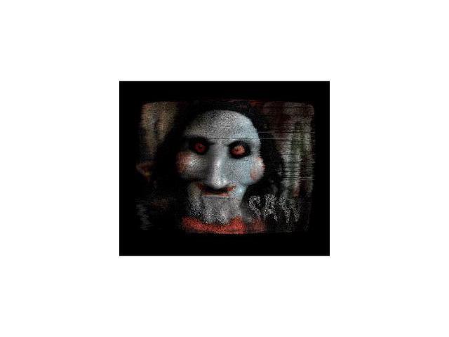 Saw Jigsaw Screen Spooky Scenes Cling