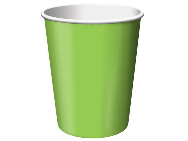 Touch Of Color 24 Count 9oz Hot/Cold Cups Fresh Lime