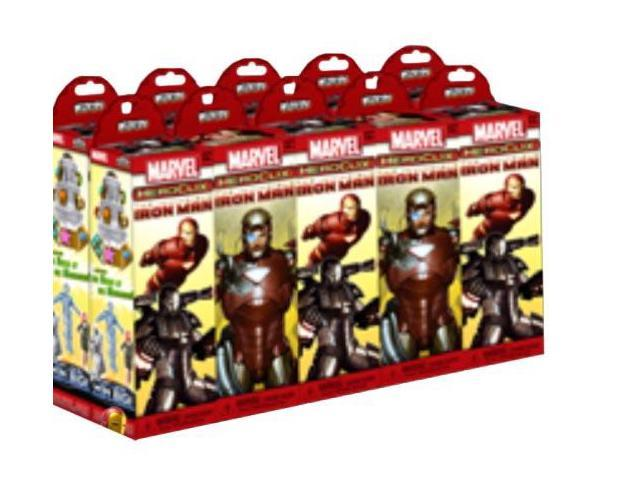Iron Man Marvel Heroclix Booster Brick Blind Box Case Of 10