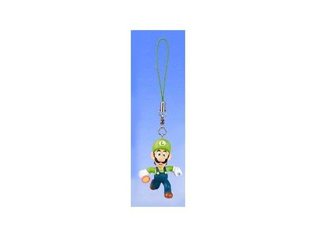 Super Mario Bros Mario Party 4 Clip On/Keychain Figure Luigi