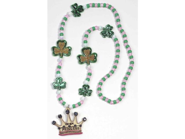 St. Patrick's Irish Princess Costume Jewelry Beads One Size