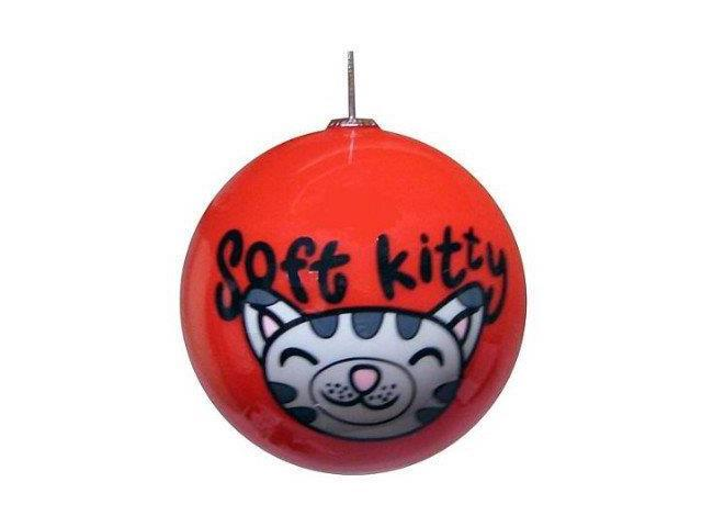 Big Bang Theory Red Soft Kitty Ball Ornament