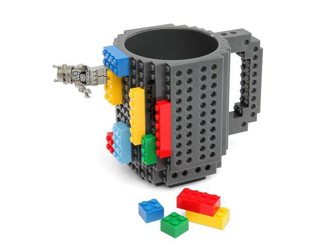 Build on Brick Mug Gray