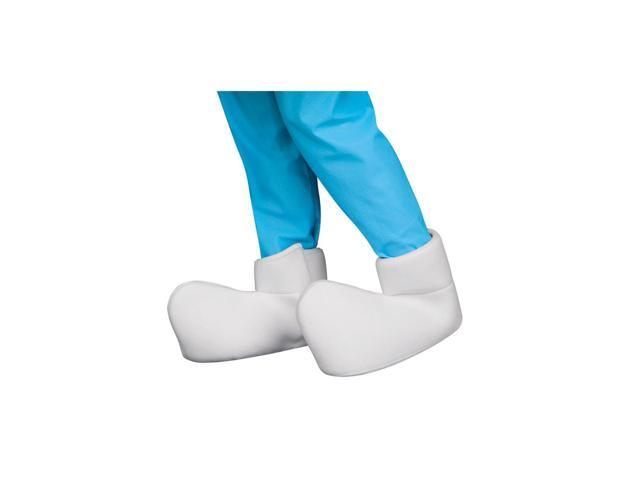 The Smurfs Costume Shoecovers Adult One Size