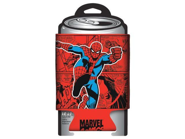 Spiderman Marvel Retro Comic Wrap Can Huggie