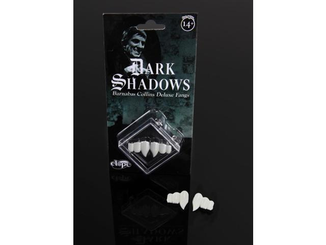 Dark Shadows Deluxe Barnabas Costume Fangs Adult One Size
