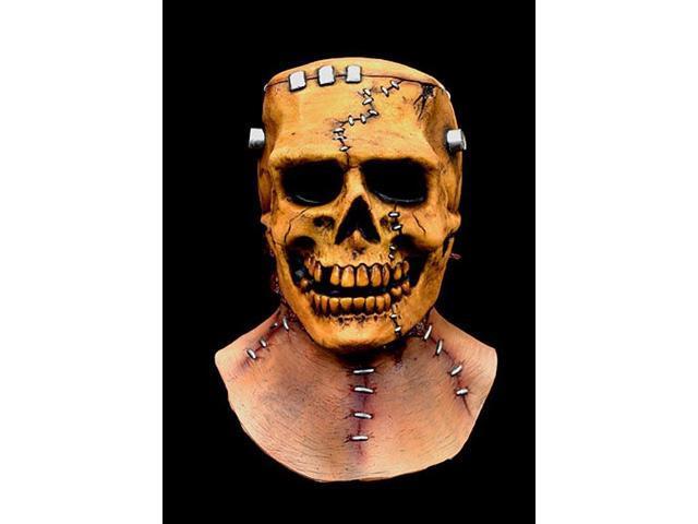 Frankenskull Full Overhead Costume Mask Adult One Size