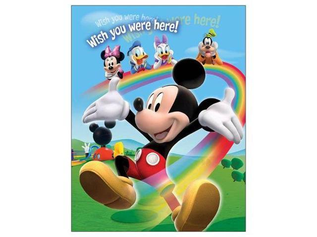 Disney Mickey Mouse Gang - Rainbow Small Photo Album (100 Photos)