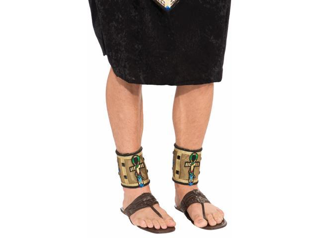 Deluxe Pair Male Egyptian Costume Ankle Bands Adult One Size