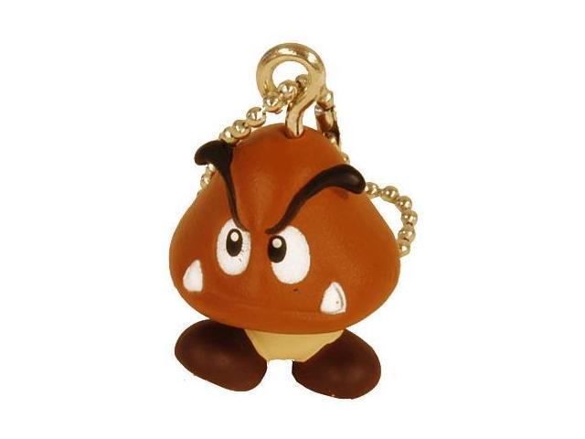 Super Mario Brothers Keychain Goomba