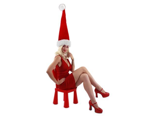 Giant Costume Santa Hat Adult One Size