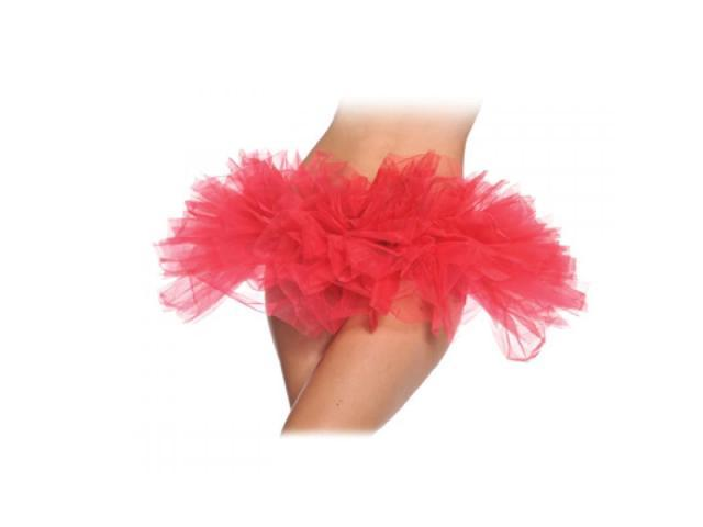 Red Adult Costume Tutu One Size