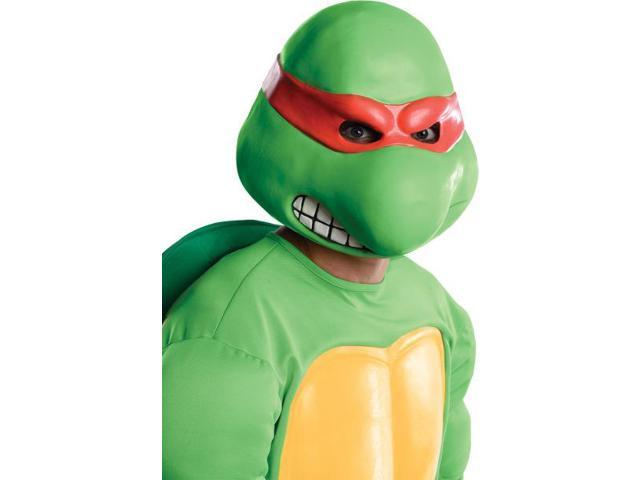 T.M.N.T. Raphael Overhead Latex Costume Mask Adult One Size