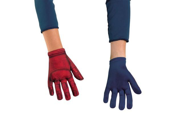 The Avengers Captain America Costume Gloves Child One Size