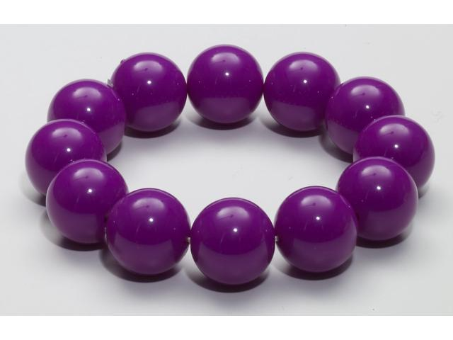 Club Candy Gumball Costume Bracelet: Purple One Size
