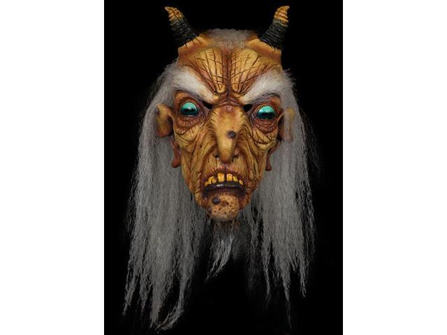 Goat Witch Full Overhead Costume Mask Adult One Size
