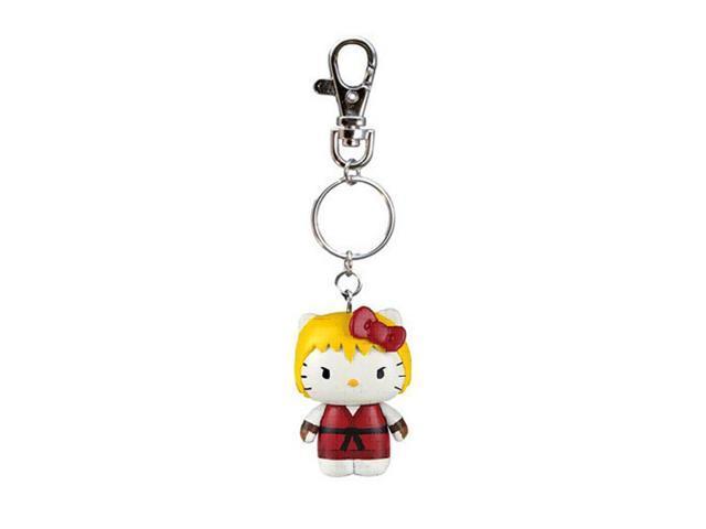Street Fighter X Sanrio Mobile Key Chain Ken