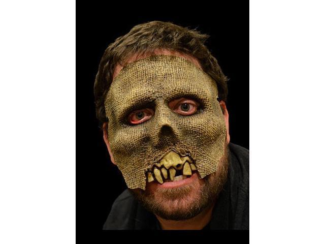Toxictoons Z-Ekk! Costume Face Half-Mask Adult One Size
