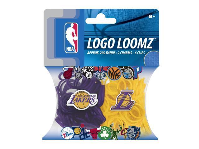 Los Angeles Lakers Logo NBA Loom Bandz Filler Pack