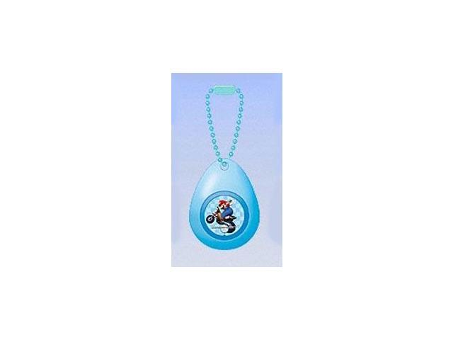 Super Mario Mini Sound Drop Swing Clip On Keychain Mario Motorcycle