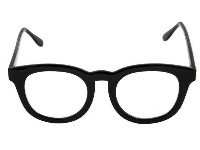 BCG Black Frame Costume Glasses Adult One Size
