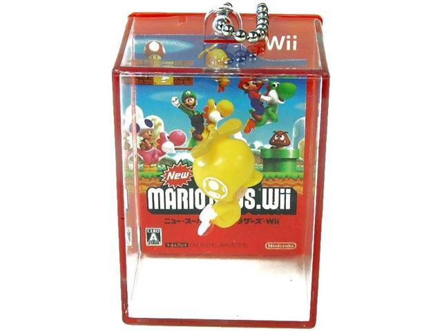 Super Mario Brothers Wii Keychain Gashapon Wolly (Yellow Ball)