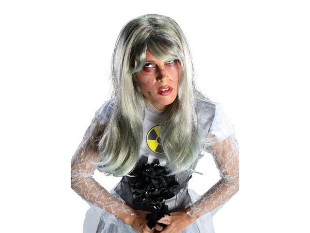 Nuclear Bride Costume Wig Adult One Size