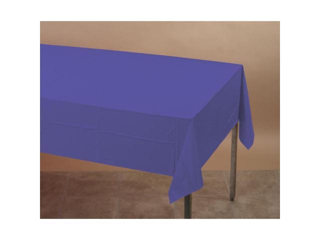 Touch Of Color Plastic Tablecover Purple