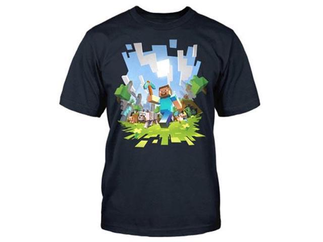 Minecraft Adventure Youth T-Shirt Youth X-Large