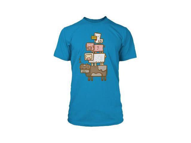 Minecraft Animal Totem Premium T-Shirt Youth Large