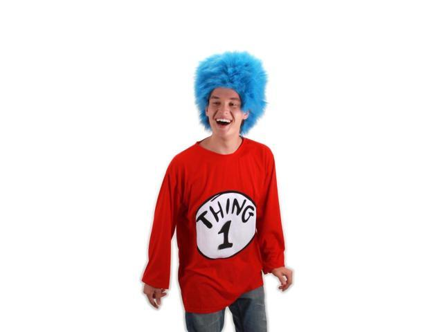 Dr. Seuss Thing 1 Costume Shirt Adult Small/Medium