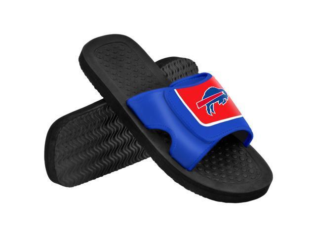 Buffalo Bills NFL Men's Shower Slide Flip Flops Medium