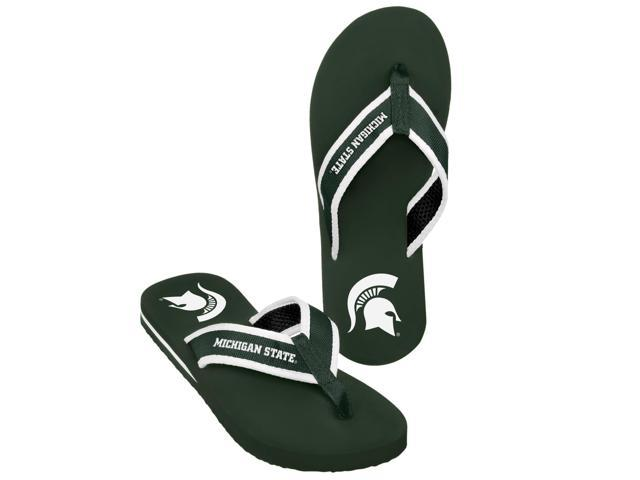 Michigan State  Men's Team Color Contour Flip Flop X-Large
