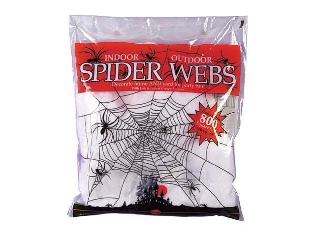 Super Stretch White Spider Web Prop 8.4 Oz