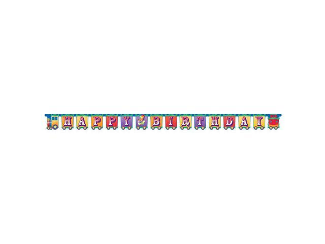 Jointed Banner Big Top Birthday Banner