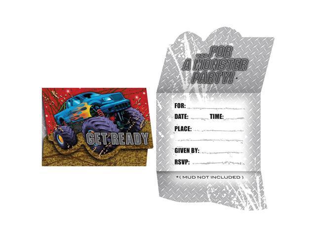 Invitation Card With Envelope 8 Pack Mudslinger