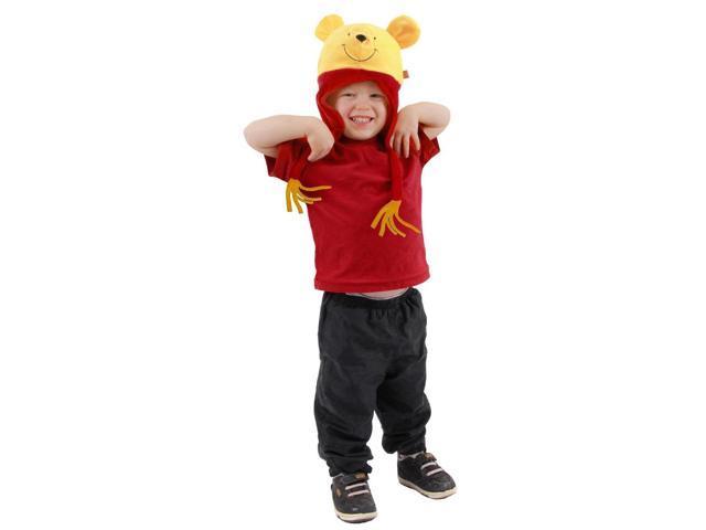 Winnie The Pooh Costume Laplander Hat Child One Size