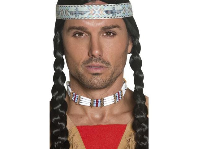 Western Authentic Indian Costume Choker One Size
